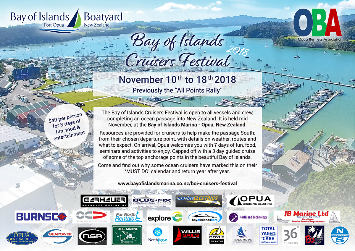 Bay of Islands Marina Cruisers festival