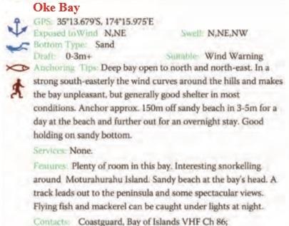 Oke Bay Text