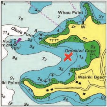 Omakiwi Cove
