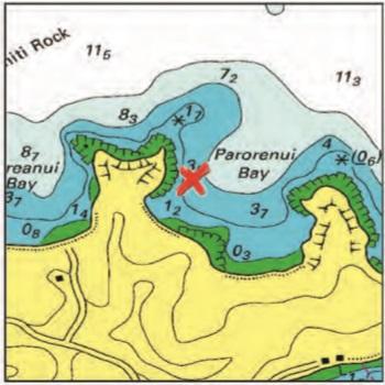Parorenui Bay