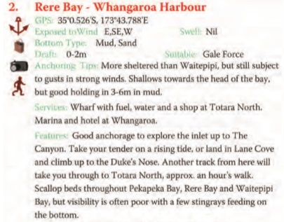 Rere Bay Text