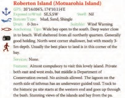 Roberton Island Text