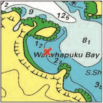 Waiwhapuku Bay - Moturua Island