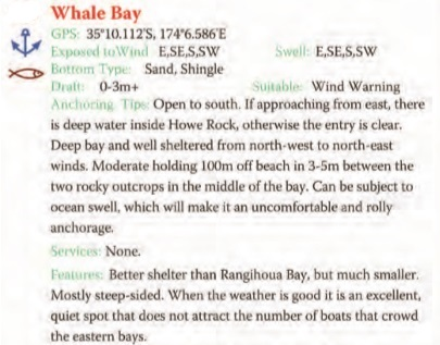 Whale Bay Text