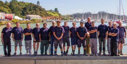 Boatyard team