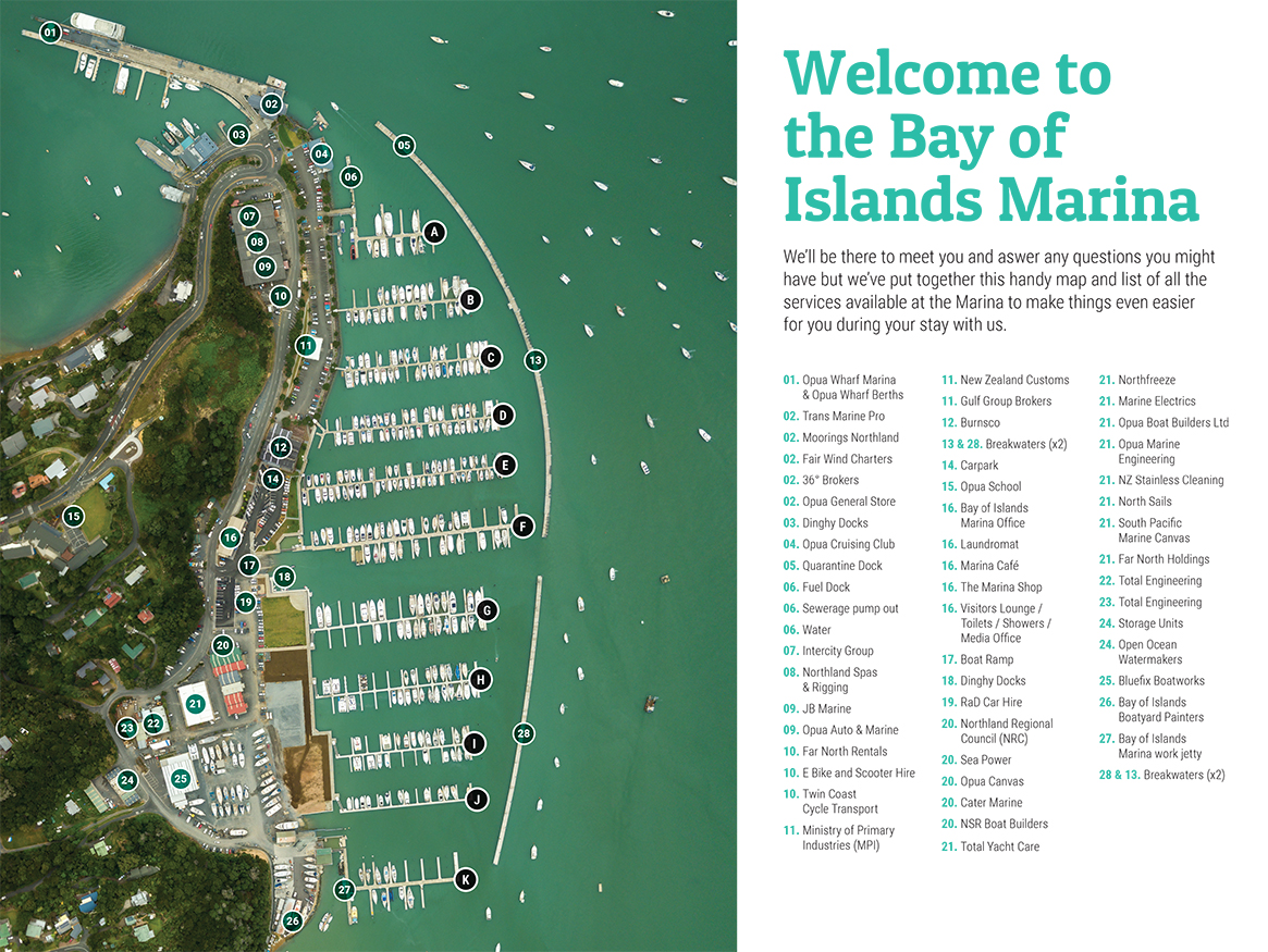 Marina Facilities Directory